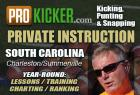 Bobby Behr - Private Kicking Lessons South Carolina