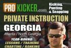 Chris Hodges Kicking / Snapping Lessons in GA / TN