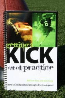 Time sensitive practice planning for the kicking game.