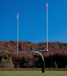 Football Goal Posts Stadium Pro 8000-20 (steel) Soccer Field - Call our office to order!