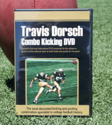 Combo Kicking, Punting and Strength Training Conditioning video DVD set with Travis Dorsch