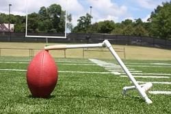 "Football Kicking Stand - The ""Kick Stand"" portable holder!"