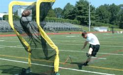 "Football Kicking Net - ""The Net Return"" Kicking Net and Kicking Cage - Contact our office to order"